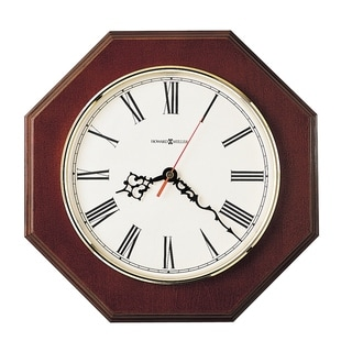 Howard Miller Ridgewood Classic, Traditional, and Transitional Octagonal Wall Clock, Reloj De Pared