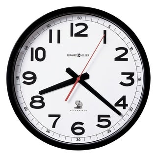 Howard Miller Accuwave Classic, Modern, Transitional Wall Clock with Large Numbers, Reloj De Pared