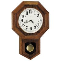 Howard Miller Katherine Classic Schoolhouse-style Octagonal Chiming Wall Clock