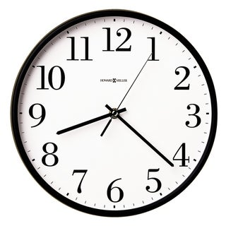 Howard Miller Office Mate Classic, Modern, Transitional Wall Clock with Large Numbers, Reloj De Pared