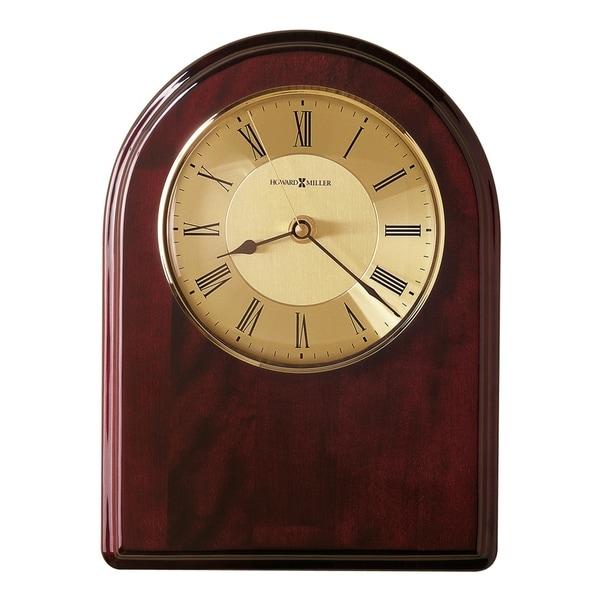 Howard Miller Honor Time III Elegant, Regal, Transitional Wall Clock on Commemorative Plaque, Reloj De Pared