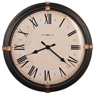 Howard Miller Atwater Modern, Transitional, Bold, and Contemporary Statement Wall Clock with Large Numbers, Reloj De Pared