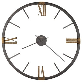 Howard Miller Prospect Old World, Transitional, Vintage, and Rustic Gallery Wall Clock, Reloj De Pared