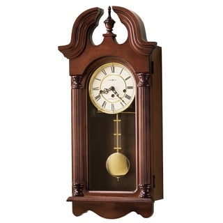 Howard Miller David Old World Grandfather Chiming Wall Clock with Pendulum