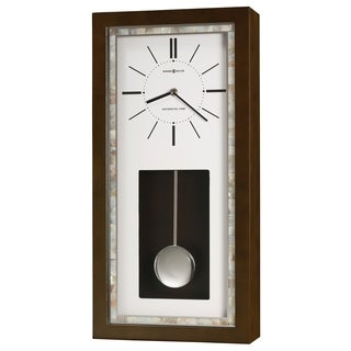 Howard Miller Holden Modern, Transitional, Bold, and Chic, Statement Gallery Wall Clock with Pendulum, Reloj De Pared