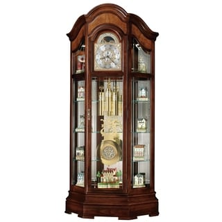 Howard Miller Classic Majestic II Grandfather Clock Style Standing Clock with Pendulum and Movements, Reloj de Pendulo de Piso
