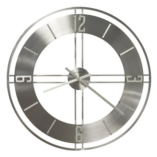 Howard Miller Stapleton Metal-finished Wood Wall Clock