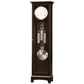 Howard Miller Urban II Modern Grandfather Clock Style Standing Clock with Pendulum and Movements, Reloj de Pendulo de Piso
