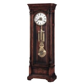 Howard Miller Classic Trieste Grandfather Clock Style Standing Clock with Pendulum and Movements, Reloj de Pendulo de Piso