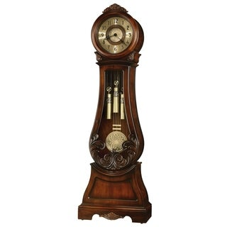 Howard Miller Diana Classic Grandfather Clock Style Standing Clock with Pendulum and Movements, Reloj de Pendulo de Piso