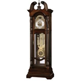 Howard Miller Classic Lindsey Grandfather Clock Style Standing Clock with Pendulum and Movements, Reloj de Pendulo de Piso