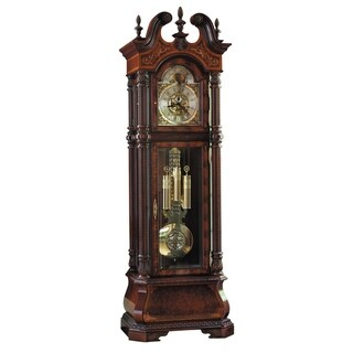 Howard Miller Classic J.H. Miller LT Grandfather Clock Style Standing Clock with Pendulum and Movements