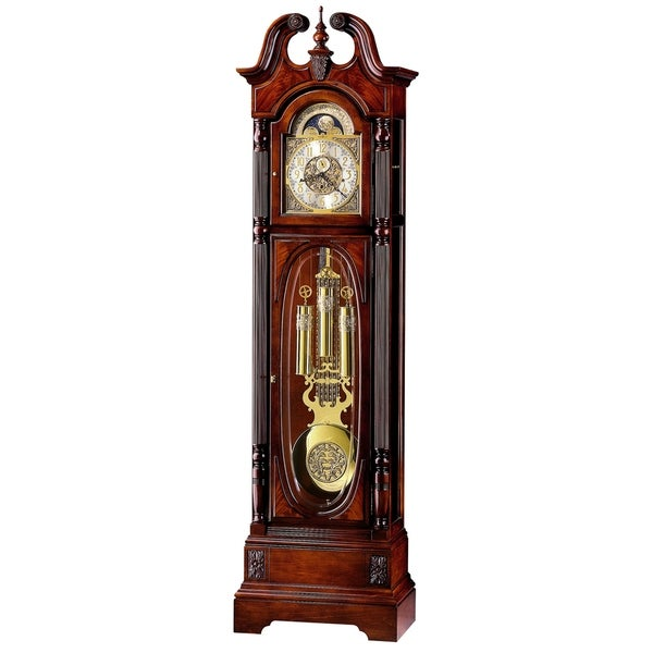 Howard Miller Classic Stewart Anni Grandfather Clock Style Standing Clock with Pendulum and Movements, Reloj de Pendulo de Piso