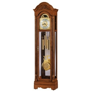 Howard Miller Classic Gavin Grandfather Clock Style Standing Clock with Pendulum and Movements, Reloj de Pendulo de Piso