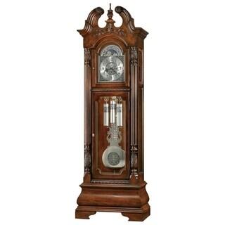 Howard Miller Stratford Classic Grandfather Clock Style Standing Clock with Pendulum and Movements, Reloj de Pendulo de Piso