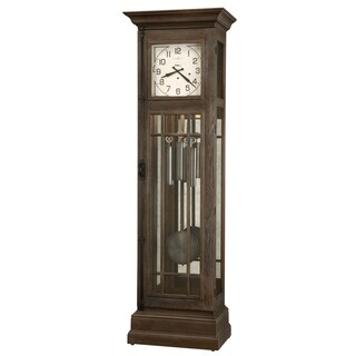 Howard Miller Davidson Vintage Grandfather Clock Style Standing Clock with Pendulum and Movements, Reloj de Pendulo de Piso