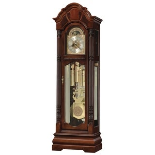 Howard Miller Winterhalder II Classic Grandfather Clock Style Standing Clock with Pendulum and Movements, Reloj de Piso