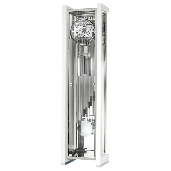 Howard Miller Park Avenue Limited Edition Modern Grandfather Clock Style  Standing Clock with Pendulum and Movements