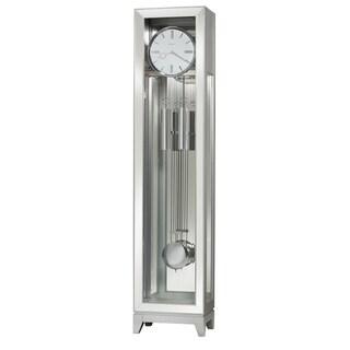Howard Miller Blayne Silver Grandfather Clock - 76 in. high x 17 in. wide x 11.25 in. deep