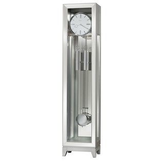 Howard Miller Blayne Modern Grandfather Clock Style Standing Clock with Pendulum and Movements, Reloj de Pendulo de Piso