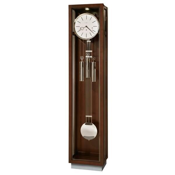 Howard Miller Cameron Contemporary Grandfather Clock Style Standing With Pendulum And Movements Reloj De Pendulo Piso