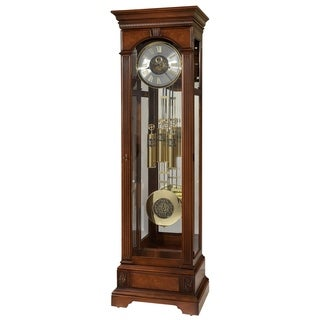 Howard Miller Alford Classic Grandfather Clock Style Standing Clock with Pendulum and Movements, Reloj de Pendulo de Piso
