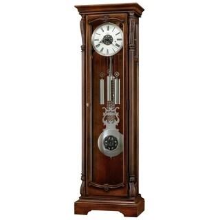 Howard Miller Wellington Hampton Transitional Grandfather Clock Style Standing Clock with Pendulum and Movements, Reloj de Piso