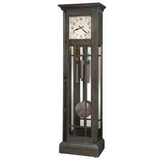 Howard Miller Amos Vintage Grandfather Clock Style Standing Clock with Pendulum and Movements, Reloj de Pendulo de Piso