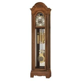 Howard Miller Amesbury Classic Grandfather Clock Style Standing Clock with Pendulum and Movements, Reloj de Pendulo de Piso