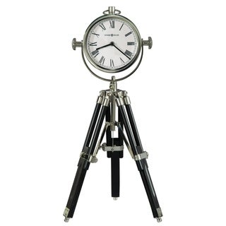 Link to Howard Miller Time Surveyor II Contemporary, Transitional, Sleek and Modern Tripod Mantel Clock, Reloj del Estante Similar Items in Decorative Accessories