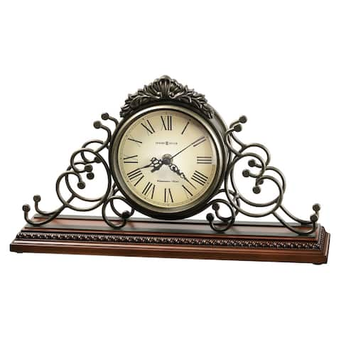 Howard Miller Adelaide Classic, Victorian, Old World, Chiming Mantel Clock with Silence Option, Reloj del Estante