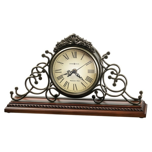 Howard Miller Adelaide Classic, Victorian, Old World, Chiming Mantel Clock with Silence Option, Reloj del Estante. Opens flyout.