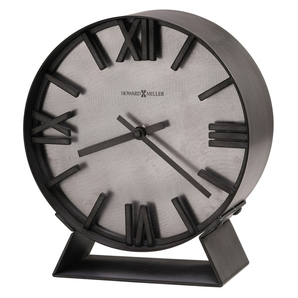 Howard Miller Indigo Contemporary, Transitional, Sleek and Industrial Modern Mantel Clock, Reloj del Estante. Opens flyout.