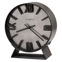 Howard Miller Indigo Contemporary, Transitional, Sleek and Industrial Modern Mantel Clock, Reloj del Estante