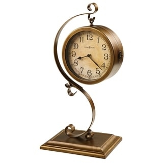 Howard Miller Jenkins Ornate, Transitional, Old World, Chic Accent Mantel Clock, Reloj del Estante