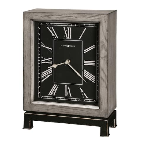 Howard Miller Merrick Contemporary, Modern, Transitional, and Sleek Accent Mantel Clock, Reloj del Estante