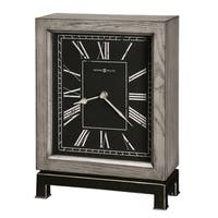 Howard Miller Merrick Contemporary, Modern, Transitional, and Sleek Accent Mantel Clock, Reloj del Estante