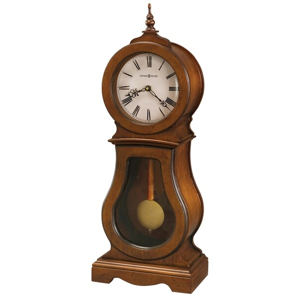 Howard Miller Cleo Contemporary, Transitional, Sleek, Chiming Mantel Clock with Silence Option, Reloj del Estante