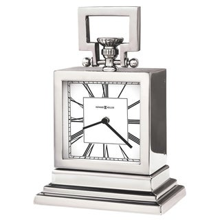 Howard Miller Maxine Contemporary, Modern, Transitional, and Sleek Mantel Clock, Reloj del Estante