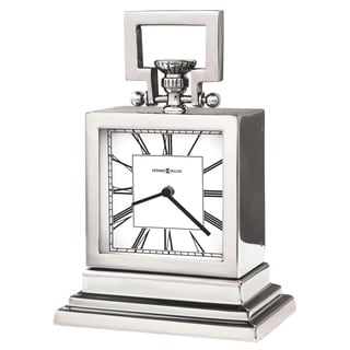 Howard Miller Maxine Contemporary, Modern, Transitional, and Sleek Mantel Clock, Reloj del Estante