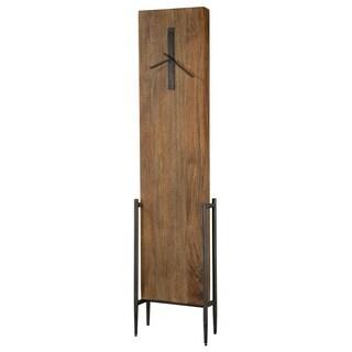 Howard Miller Bedford Park Modern Transitional Wood Plank Style Standing Clock with Movements, Reloj de Pendulo de Piso