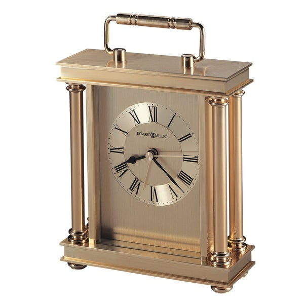 Howard Miller Audra Contemporary, Modern, Sleek, Glam Style Mantel Clock, Reloj del Estante