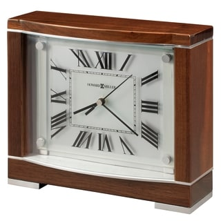 Howard Miller Megan Contemporary, Transitional, Sleek, and Retro Chic Style Mantel Clock, Reloj del Estante