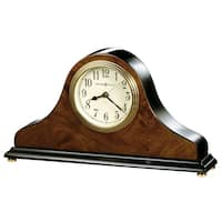 Howard Miller Baxter Classic, Traditional, Transitional, Piano Finish Mantel Clock, Reloj del Estante