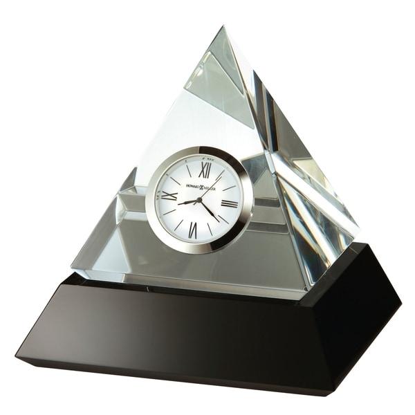 Howard Miller Summit Contemporary, Modern, Glam Style & Sleek Desk Clock in Gift Box, Reloj del Estante