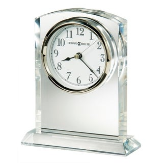 Howard Miller Flaire Contemporary, Modern, Classic Style & Glam Mantel Clock, Reloj del Estante