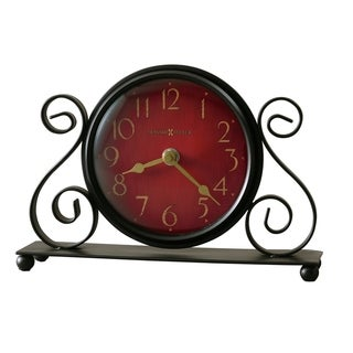 Howard Miller Marisa Antique Style, Vintage, Old World, & Classic Style Mantel Clock, Reloj del Estante
