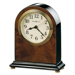 Howard Miller Bedford Classic, Traditional, Transitional, Piano Finish Mantel Clock, Reloj del Estante