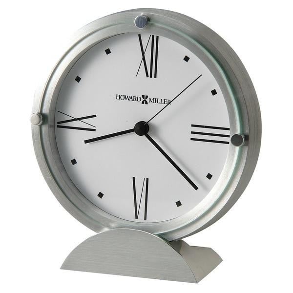 Howard Miller Simon II Contemporary, Modern, Classic Style & Sleek Mantel Clock, Reloj del Estante