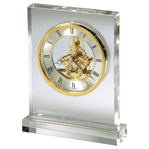 Howard Miller Prestige Contemporary, Modern, Sleek & Glam Mantel Clock with Movements, Reloj del Estante